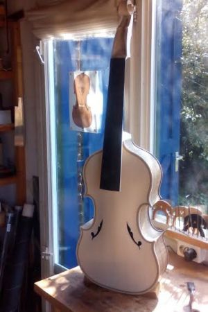 Tenor viol in G based on an Italian model