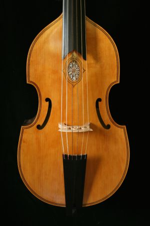 6-string bass viol after Henry Jaye (Londen 1624)