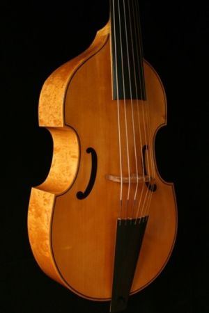 7-string bass viol after Michel Colichon, Paris 1683